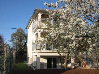 Villa in Spring.