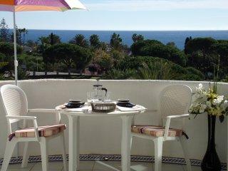 Tout confort, terrasse vue mer, Plage à 3' à pied, Marbella