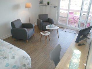 Appartement perle d'Ô, gare centre ville à pied, Saint-Brieuc