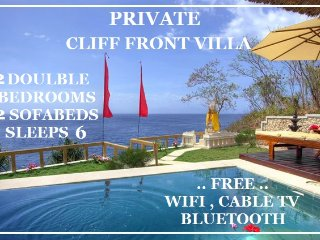 Private Cliff Front Villa, Nusa Lembongan