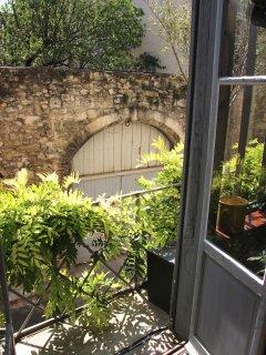 The Atelier d'artiste's apartment