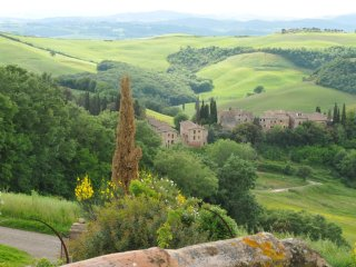 Tuscany landscape view Holiday Home - Rondini, San Giovanni d'Asso
