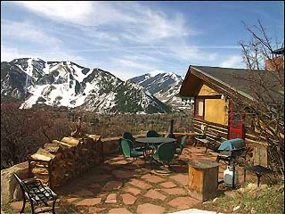 Rustic Mountain Cabin - A Room with a View! (2626), Aspen