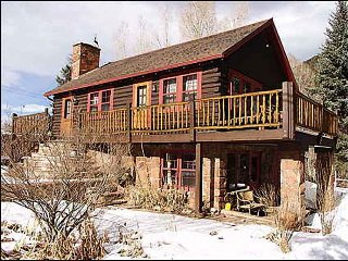 Rustic Cabin on River - Remote Paradise (3905), Snowmass Village