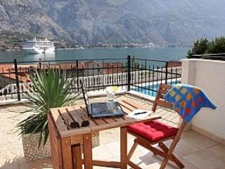 Stunning views over Kotor Bay, Muo