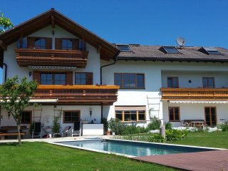 Ferienwohnung Lorenz***** - Natural pool, fantastic view of the Alps, quiet