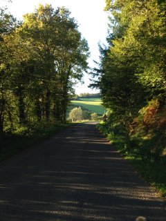 Autumn views of Janaillat, all the wonderful deep colours make it very picturesque.