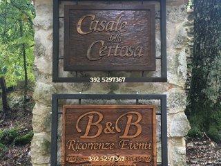 B&B Casale della Certosa di Trisulti