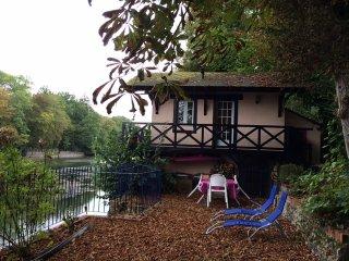 Chalet sur les bords du Loiret, Olivet