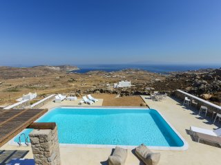 Aris suite with shared pool and amazing views!, Ciudad de Míkonos