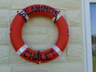 Seawinds chalet, enjoy the sea air.