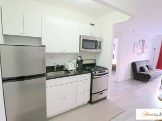 Bright and Modern New York Apartment With 1 Bedroom, Weehawken