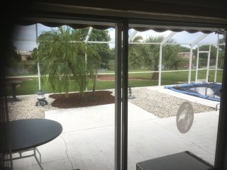 Peaceful Port Charlotte 2Br/2Ba on water