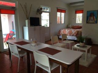 Garden Studio Apartment in Quebradillas.