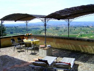 3 bedroom Apartment in Certaldo, Tuscany, Italy : ref 5455290