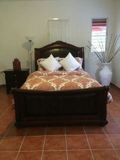 Studio has a bedroom adjacent which can be opened for 2 other guest. $25p/person each night.