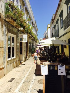 I minute walk - Near apartment - lovely street with restaurants