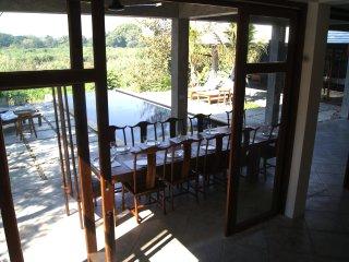 PING POOL VILLA 1, private pool riverfront villa