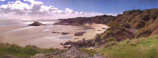Borth y Gest beach