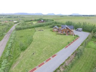 The house by the golden circle with hot tub, Selfoss