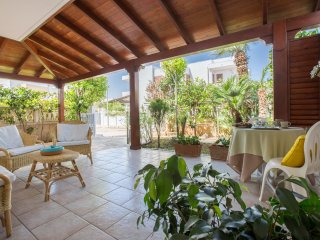 Villa Anna: double veranda for relaxing moments in Salento, Torre Santa Sabina