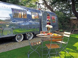 Kara, Airstream, The Park  located in Newquay, Cornwall