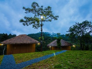 Oxyfarm Resort, amazing panoramic view, near Mananthavady, Wayanad, Kerala