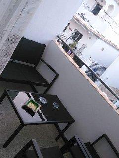 Terraza principal exterior pero con privacidad.