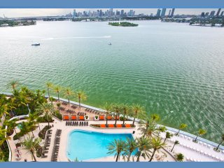 DELUXE 1BED/1BATH+PARKING+POOL+JACUZZI+WATER VIEW, Miami Beach