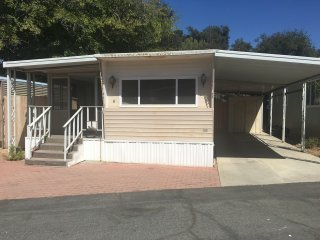 1 Bed + 1 Bath Mobile Home Unfurnished Senior Park, Oak View