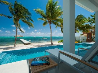 "Luxury 6BR Oceanfront Estate with 150' Pool and 2 Hot Tubs - ""Point of View"", George Town"