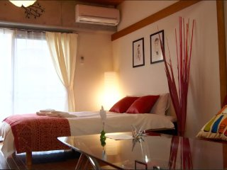 1min!!Gion5minHakata Red Luxury Ema's room#6079433, Fukuoka