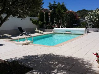 Boujan villa rental South of France, private pool