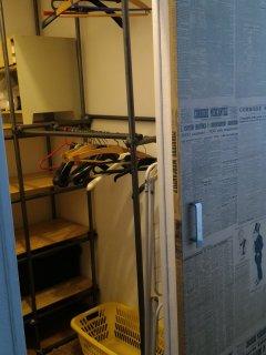 La cabina armadio attrezzata