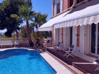 Luxurious villa 5km from Benidorm