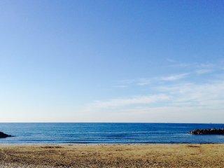 Chambre avec salle de bain face à la mer, Frontignan