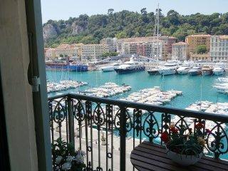 Harbor in Nice