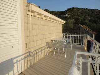 Apts Marija- Two Bedroom Apt,Balcony, Sea View (A), Slano