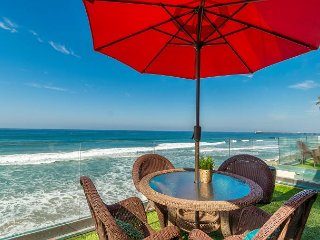 7br/7ba Luxury Oceanfront Retreat, Oceanview Decks, Spa, BBQ, A/C