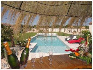 """""""Un Gîte en provence"""" piscine chauffée jacuzzi, Bedarrides"""