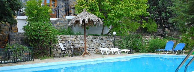 5 km from the Beach, Sophie Villa in the Village