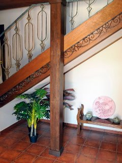 Detalle escalera subida a planta superior