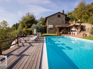 Villa la Foce: breathtaking panoramic view