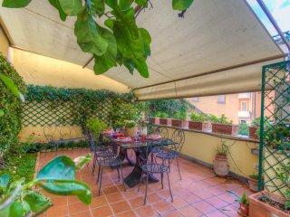 Apartment 3+1sleeps Metro Euclide Terrace Airco FREE WiFi Fully Equipped Kitchen, Rome