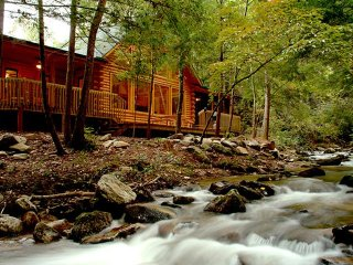 A River Runs Through It - Rumbling Bald Resort, Lake Lure