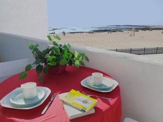 Apto. frente a la arena blanca y aguas turquesas, El Cotillo