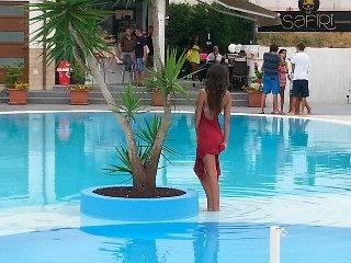 Villa con Terrazza, mare, piscina e wi-fi., Campofelice di Roccella