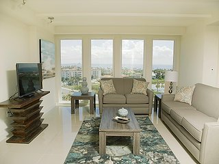 Appreciate amazing sunsets from this private balcony on a 2bed 2bath condo.