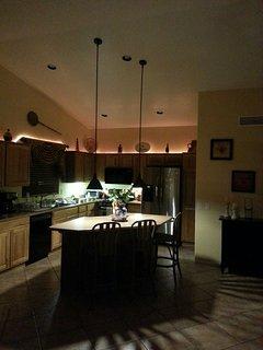 Kitchen mood lighting