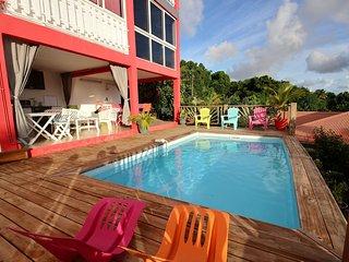 Villa 4CH, piscine, vue mer, Sainte-Luce